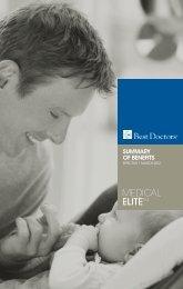 Download Spec Sheet - Best Doctors Insurance Limited