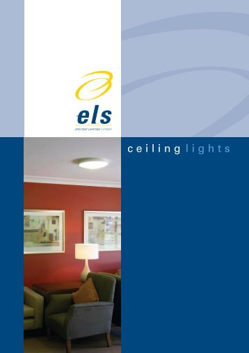 ceiling V2.indd - Efficient Lighting Systems