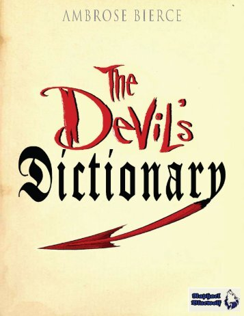 The Devil's Dictionary - D Ank Unlimited