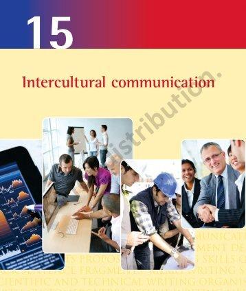 Intercultural communication - Index of