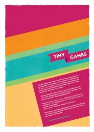 Tiny-Kickstarter-Games
