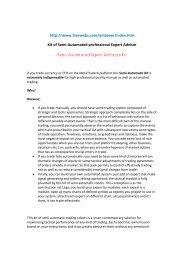 Semi-Automated Expert Advisors Kit - FXMGM