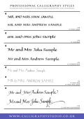 sample booklet pdf - Calligraphy Studio - Page 5