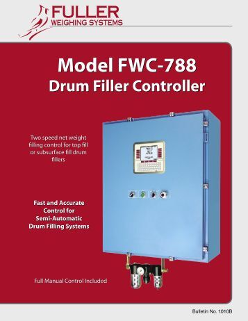 Drum Filler Controller - Applied Scale Technology