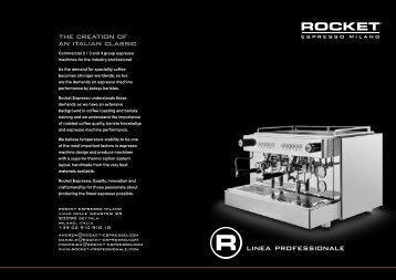 Linea Professionale - Rocket Espresso Milano