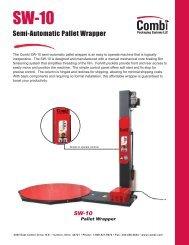 Combi's SW-10 Semi-Automatic Pallet Wrapper - Combi Packaging ...