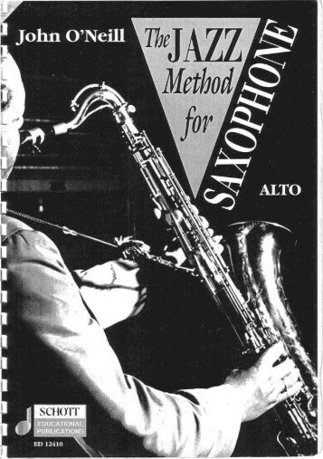 The Jazz Method for Saxophone - About the Studio