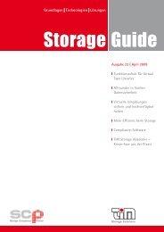 TIM Storage Guide - Ausgabe 22, April 2009 - TIM AG