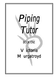 Piping Tutor - Bagpiping for All Occasions