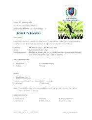 Beyond The Boundries - Best CBSE School in Delhi