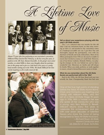 PDF Version Available - Texas Music Educators Association