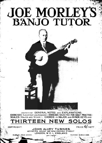 Joe Morley's Banjo Tutor-Exercises - Classic Banjo