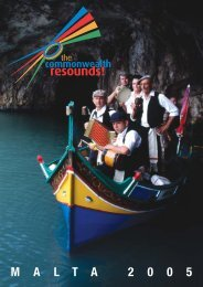 Programme - The Commonwealth Resounds!