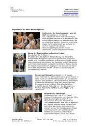Schulbrief XXI_2007 - Staatliche Museen zu Berlin