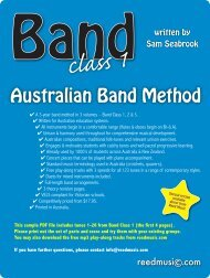 Download PDF score & parts tunes 1-26 - Reed Music