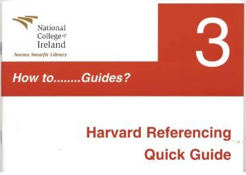 harvard referencing library quick guide Leeds harvard introduction take a look at the following handy resources and guides: leeds harvard referencing examples harvard referencing quick crib sheet.