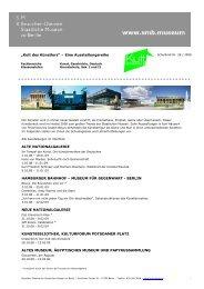 Schulbrief Nr. 28/ 2008 - Staatliche Museen zu Berlin