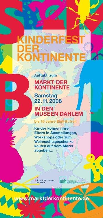 Flyer zum Kinderfest als PDF - Staatliche Museen zu Berlin