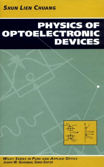 Physics of Optoelectronic Devices
