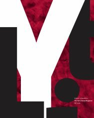 Volume 15 Number 2 The Yale Literary Magazine ... - Yale University
