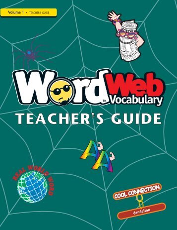 TEACHER S GUIDE - Word Web Vocabulary