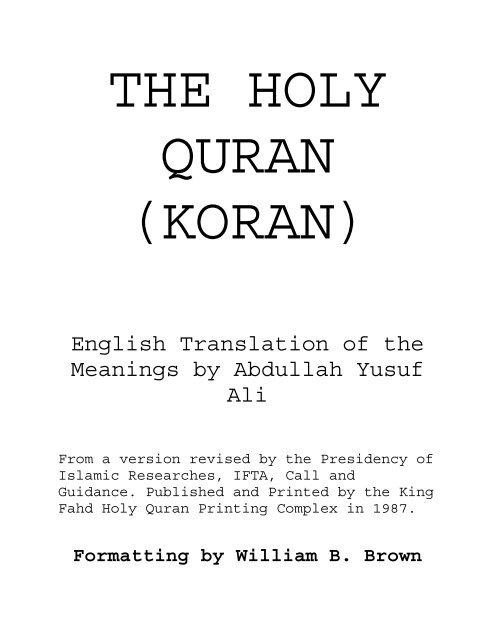 english-quran(yusuf-ali)