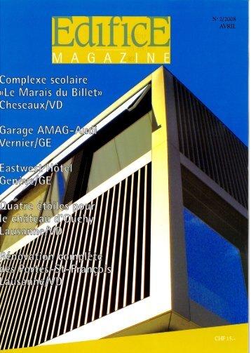 Edifice Magazine - AMAG SA (PDF) - Laydevant SA