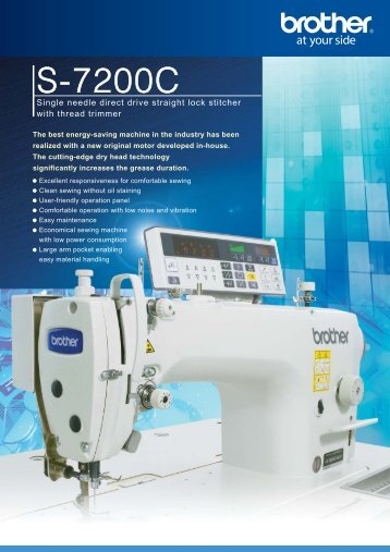 S-7200C Catalog - Brother