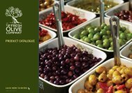 Download Our Product Catalogue - The Fresh Olive Company