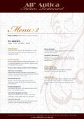 Download our Functions menu (pdf) - All' Antica Italian Restaurant - Page 2