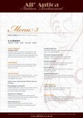 Download our Functions menu (pdf) - All' Antica Italian Restaurant - Page 3