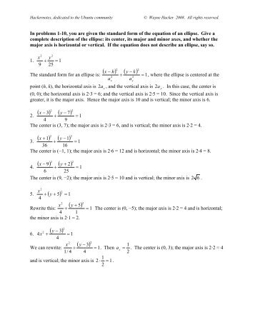 solutions to homework 1 Homework 1: solution lecturer: aarti singh acknowledgement: the ta  graciously thanks rafael stern for providing most of the solutions 11 problem 1.