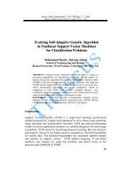 Evolving Self-Adaptive Genetic Algorithm in Nonlinear Support ...