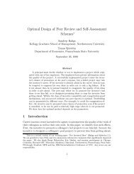 Optimal Design of Peer Review and Self Assessment Schemes