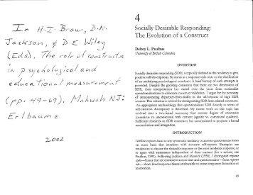 marlowe crowne social desirability scale short form pdf