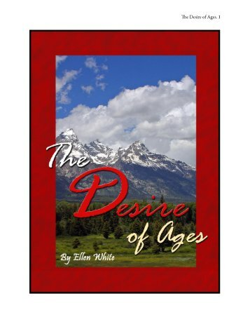 The Desire of Ages - Christian Freebies