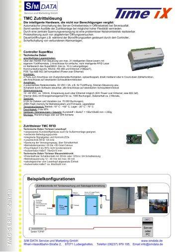 Zutrittsleser Info Komplett - S/M DATA Service und Marketing GmbH