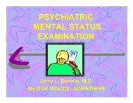 PSYCHIATRIC MENTAL STATUS EXAMINATION