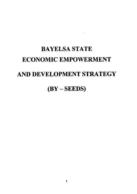 bayelsa state economic empowerment and     - UNDP Nigeria