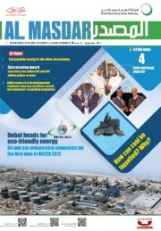 Al Masdar September 2011 - Issue 41
