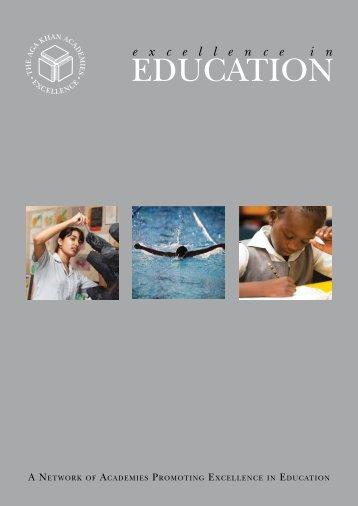Excellence in Education - Aga Khan Development Network