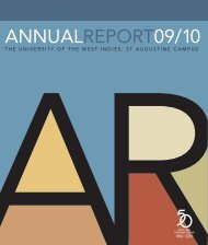 Annual Report 09/10 - The University of the West Indies, St. Augustine