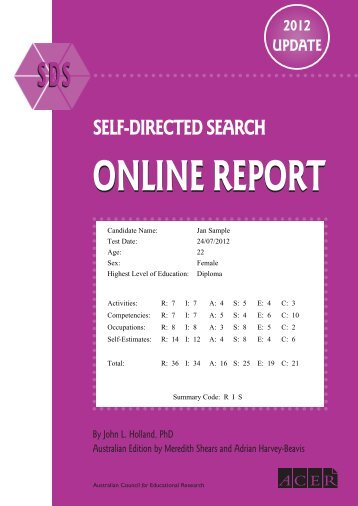 SELF-DIRECTED SEARCH - ACER