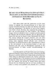 M. Abid / Q. Abid QUAID-I-AZAM MUHAMMAD ALI JINNAH'S SELF ...