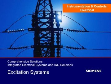 Technical Slides Excitation Systems