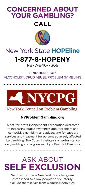 Effects of gambling in new york state costa rica morazan hotel casino