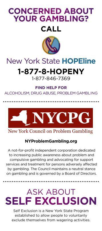 Self exclusion gambling nsw