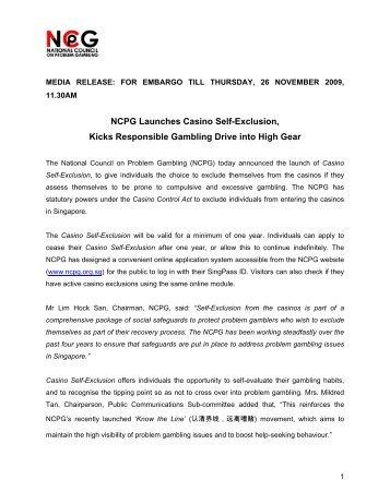 Gambling self exclusion forms qld free bingo game no deposit