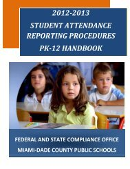 2012-2013 student attendance reporting - e-Handbooks ...