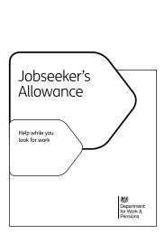 Jobseeker's Allowance - Gov.uk